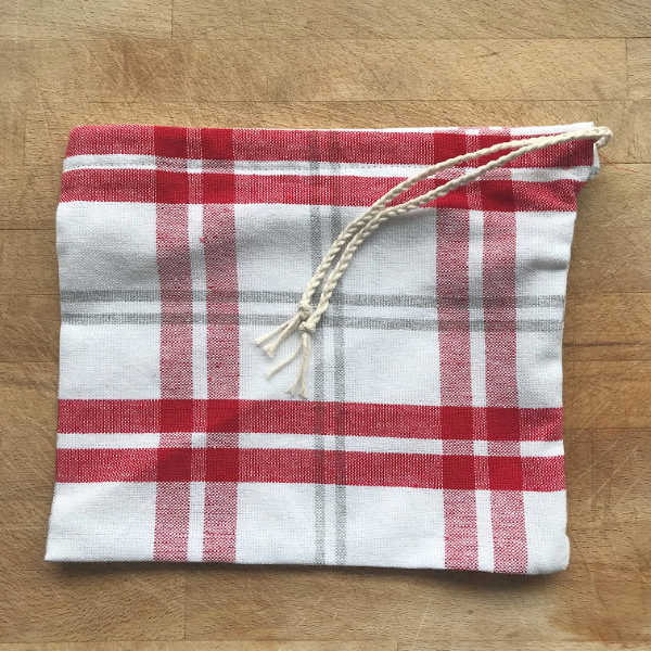 small reusable produce bag