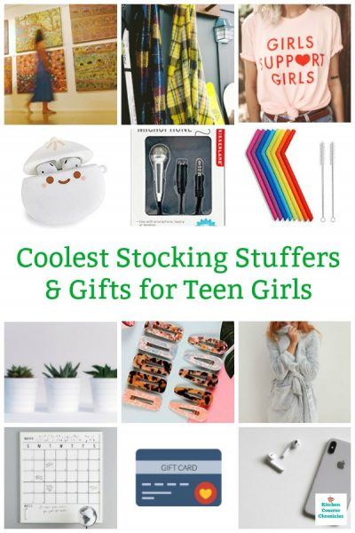 stocking stuffers and gifts for teen girls