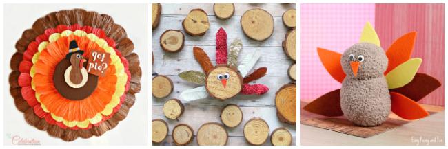 thanksgiving turkey crafts for older kids to make
