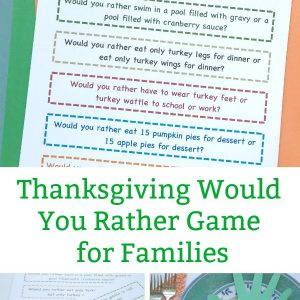 thanksgiving would you rather questions