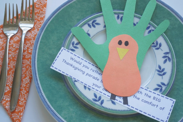 thanksgiving would you rather questions for kids on a plate