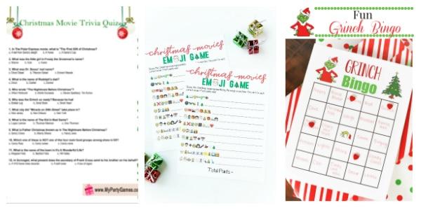 christmas games to print