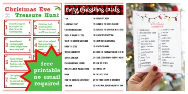 free christmas games for kids