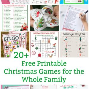 free printable christmas games for the whole family