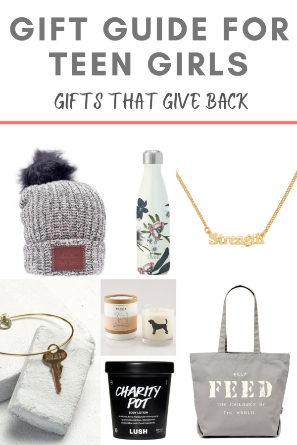 gifts that give back for teen girls