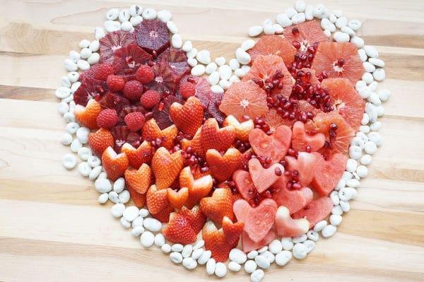 heart valentine fruit tray ideas final fruit heart