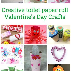 toilet paper roll valentine's day crafts for kids