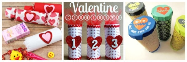toilet paper roll valentine cards