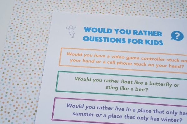 printable would you rather questions for tweens