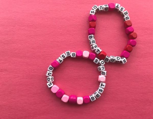valentine friendship bracelet