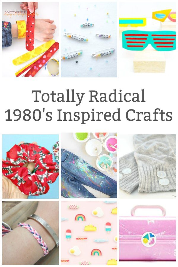 80s craft ideas for teens to make