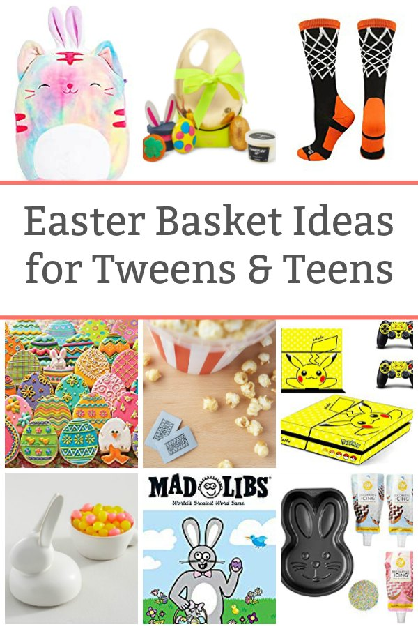 easter basket ideas for tweens