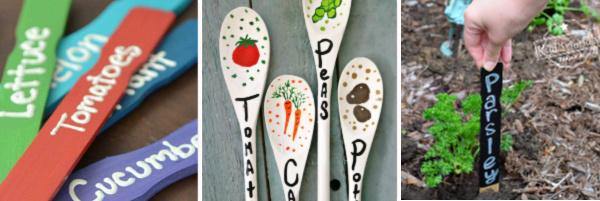 diy garden vegetable markers