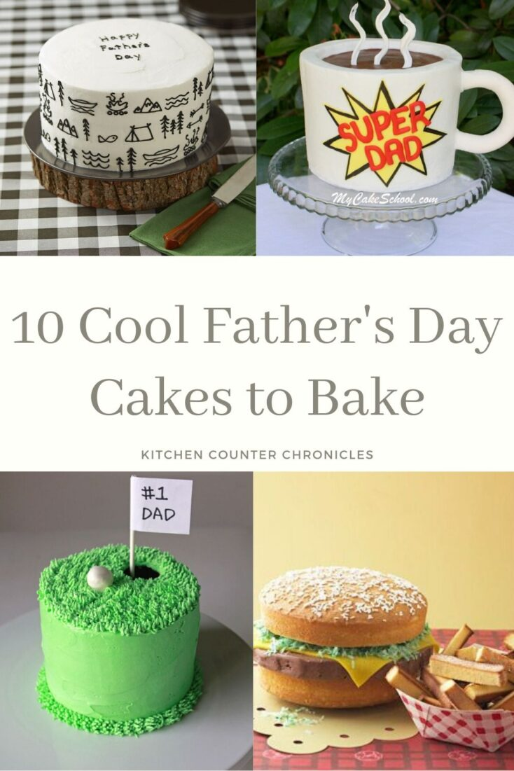 cool father's day cake to bake