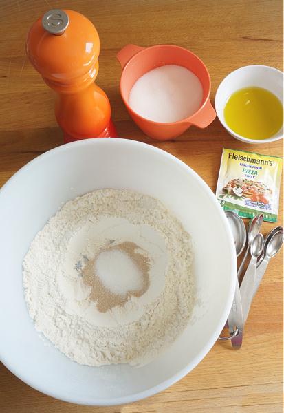 calzone dough recipe ingredients