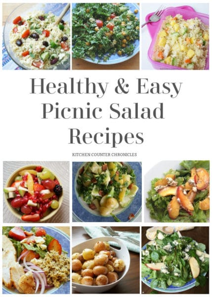 easy salads for picnics featured image
