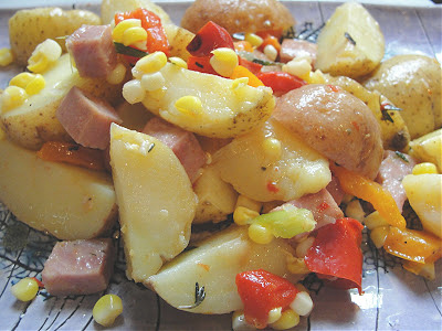 potluck warm potato salad recipe