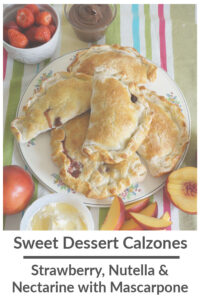sweet dessert calzone recipe featured image