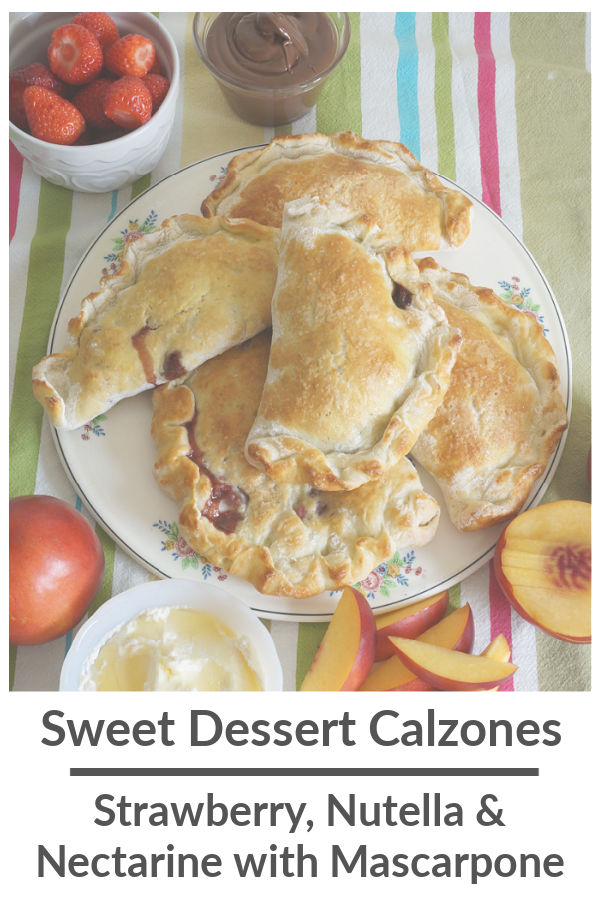 sweet dessert calzone recipe featured image