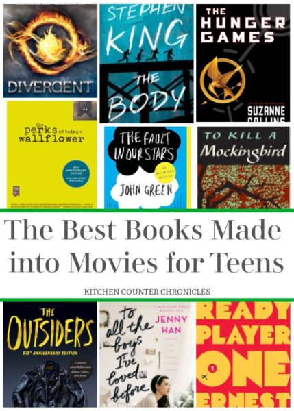 The Best Books Made into Movies for Teens