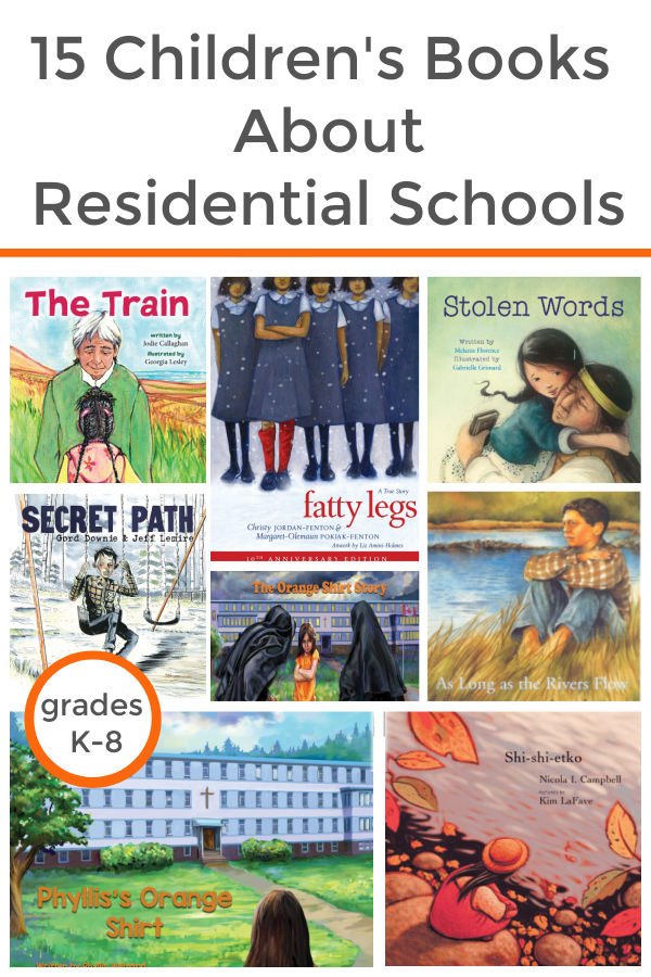 children's books about residential school for kids