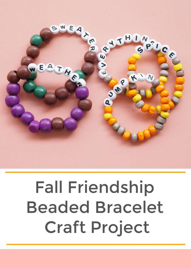fall friendship bracelets fall craft for tweens