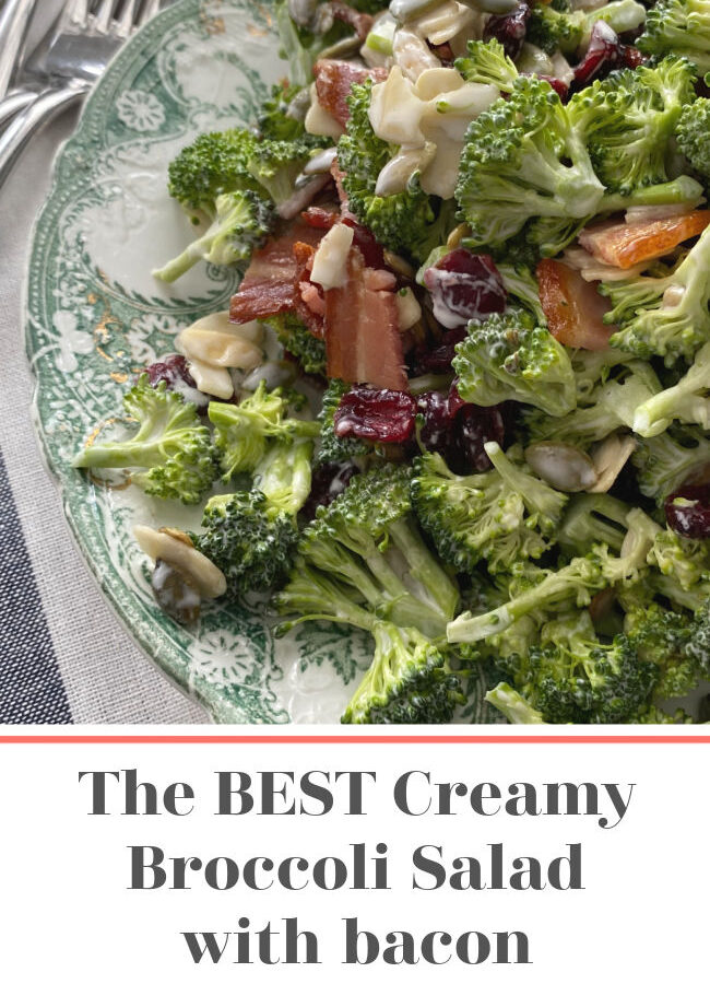 the best broccoli salad with bacon recipe