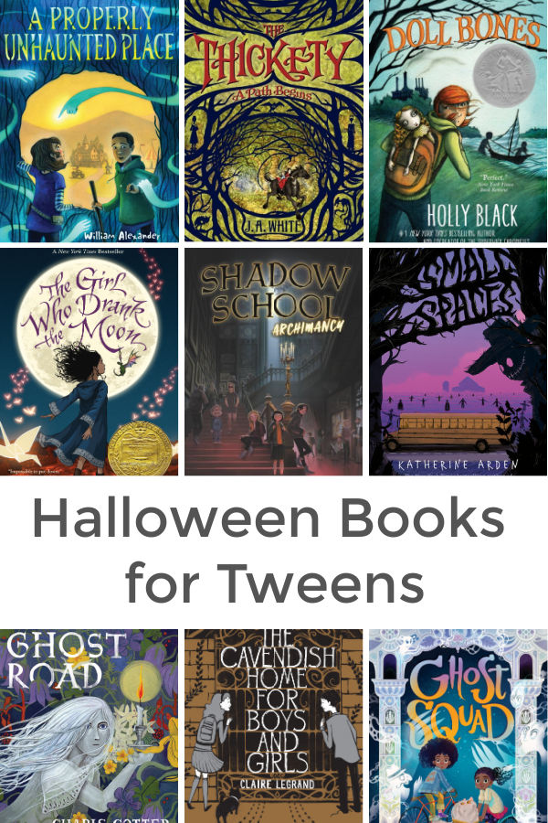 Halloween books for tweens