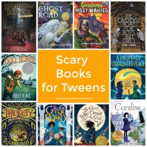 scary books for tweens