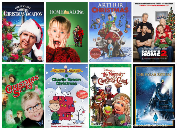 best christmas movies for families part 2 collage of movie posters