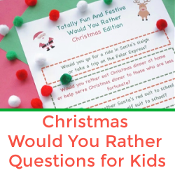 would you rather christmas questions for kids popular post