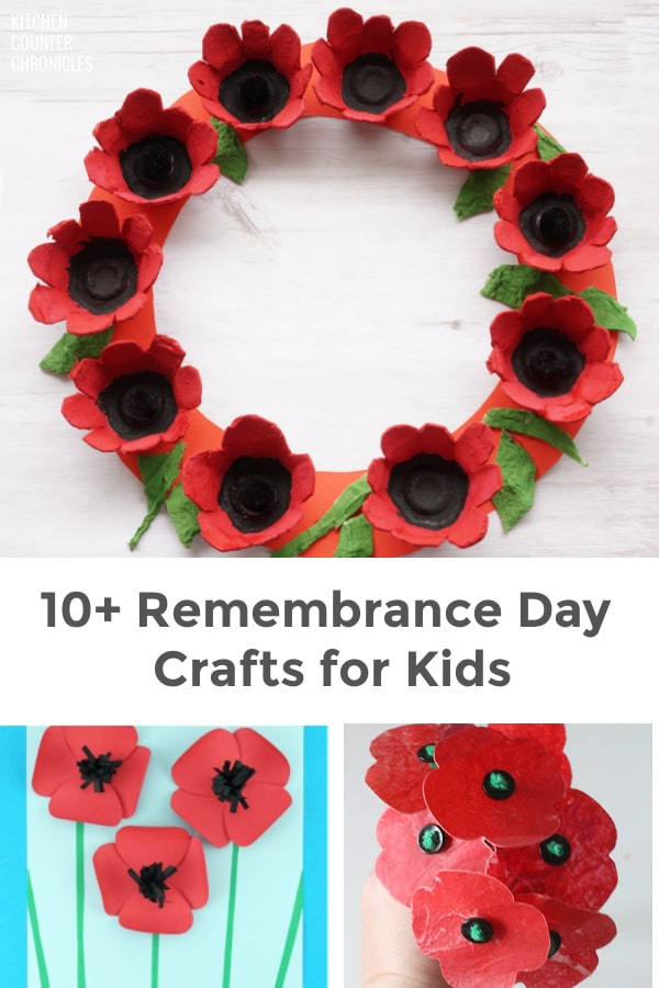 Remembrance Day Crafts for Kids Featured Image