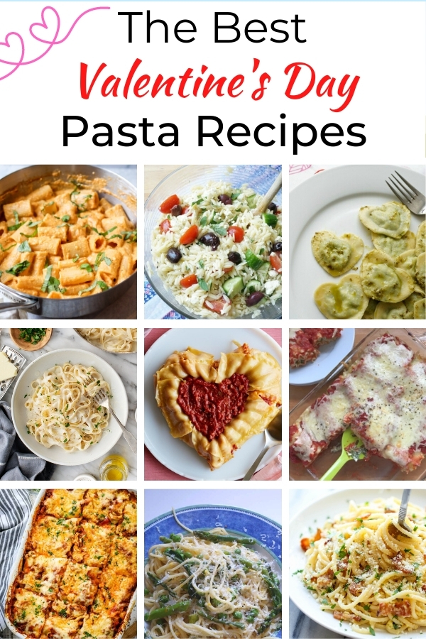 the best valentine's day pasta recipes