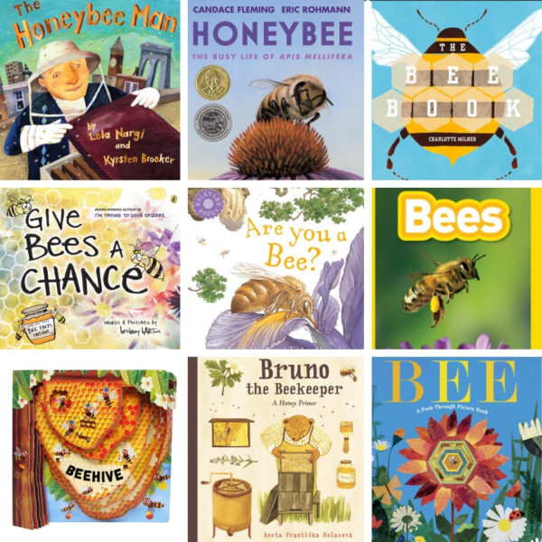nature books for kids best books about bees for kids collage of books