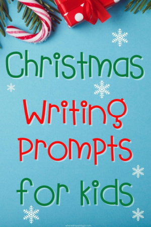 christmas writing prompts for kids