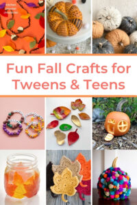 fall crafts for tweens to make collage of craft projects