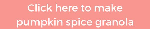 pumpkin spice granola instagram button