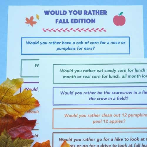 fall would you rather popular post