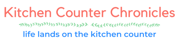 kitchen counter chronicles header new